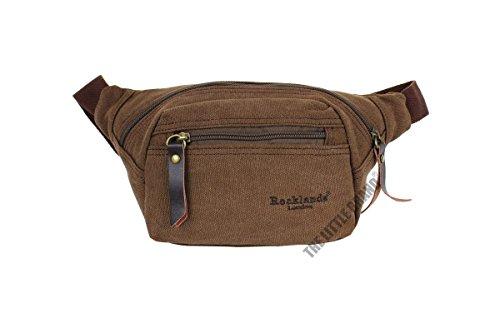 rocklands-london-canvas-brown-waist-pouch-bumbag-money-belt-bag-rl42001