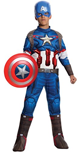 Avengers 2 - Captain America Costume Boys