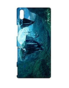 Mobifry Back Case Cover For Sony Xperia Z5 Plus (Printed Design)