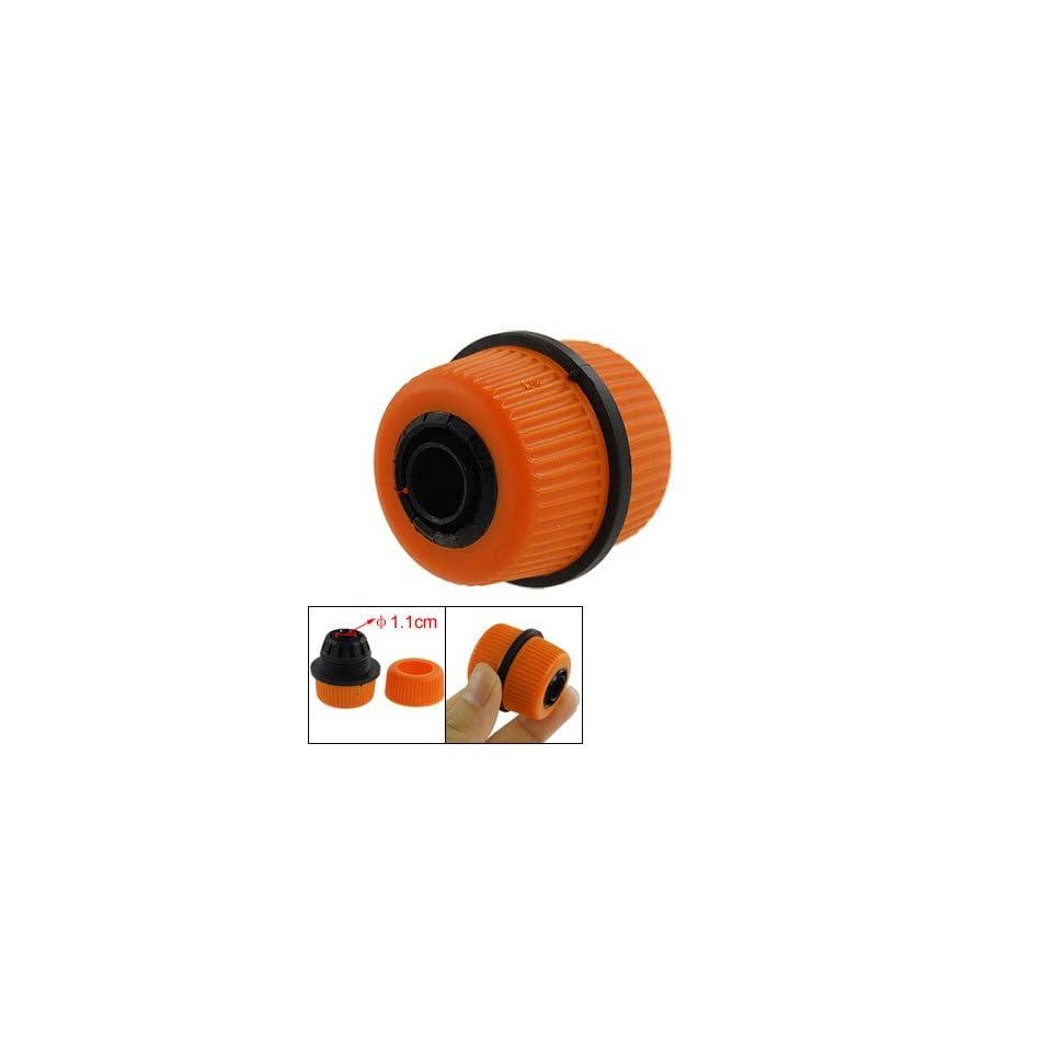 Amico Garden Water Hose Fitting Connector Orangered Black