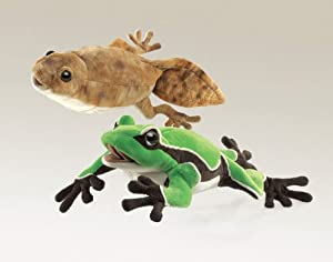 Tadpole/Frog Reversable Puppet by Folkmanis