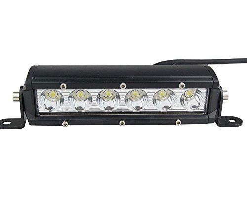 Senlips Light Bar 30W Led Work Light Bar Flood Beam 4X4 1Pack Suv Atv
