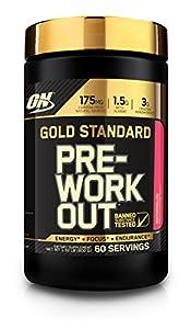 Optimum Nutrition Gold Standard Pre-Workout 30 Serve Supplement, 300 Gram