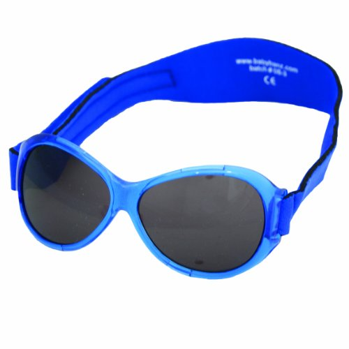 Baby Banz Infant Retro Sunglass, Pacific Blue, 0-24 Months