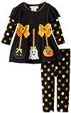 Bonnie Baby Baby-Girls Infant Halloween Applique Legging Set