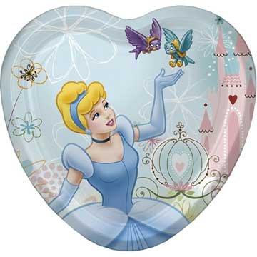 Cinderella Dessert Plates 8ct