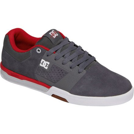 2ef23304e88012 DC Skateboarding Cole Lite 2 Skate Shoe Men s Grey Red 9 0 - Jeremy ...