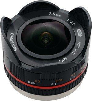 SAMYANG 7.5 mm f / 3.5 UMC Fisheye Lens for MFT