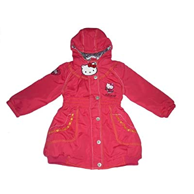 Girls hello kitty coat 12 months upto 7 years old