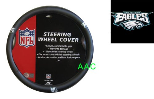 Official NFL License Steering Wheel Cover - Philadelphia Eagles at Amazon.com
