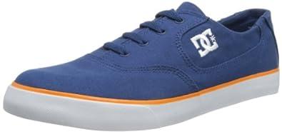 DC Shoes Mens Flash TX Shoe Low-Top D0302911 , Navy/Orange, 6 UK