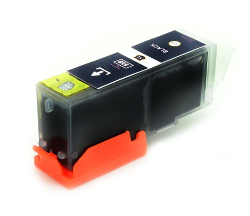 1 x kompatibel Tintenpatronen PGI-550 mit Chip für Canon Pixma: IP7250 MG5450 MG6350 MX725 MX925