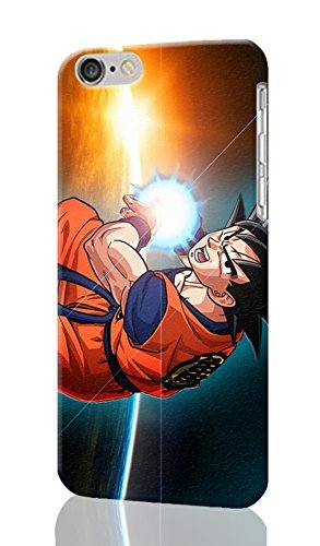 SOKY(TM) Goku Kamehameha Dragon Ball Z Unique Design Image Durable Hard iphone 6 3D Case Cover For iPhone 5c
