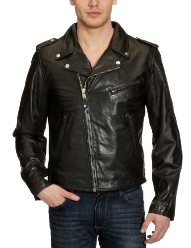 SCHOTT LC1140 Men's Jacket Vint. Black XX-Large