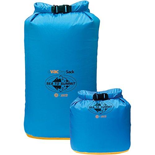 Sea-To-Summit-evac-Dry-Sack-wasserfester-komprimierbarer-Aufbewahrungssack-blau-35L-33x21cm-70cm-112g