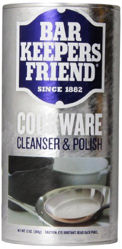 Bar Keepers Friend COOKWARE Cleanser and Polish Powder 12 Ounce Each Can 2 Pack (Aluminum Pan Cleaner compare prices)