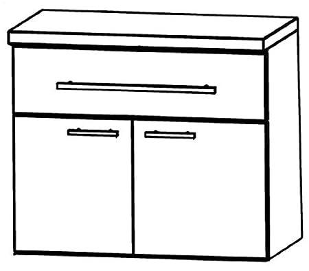 UNA326A7M) in Star Line Cabinet Bathroom Furniture-60cm