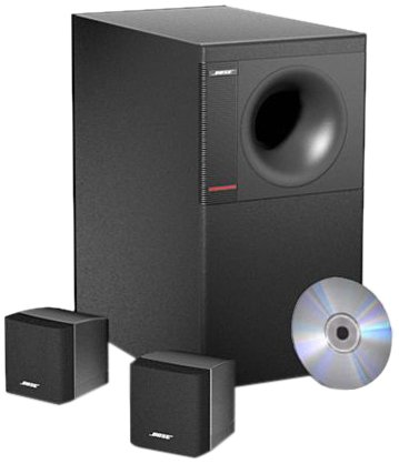 Acoustimass 3 Series IV Speaker System   Black