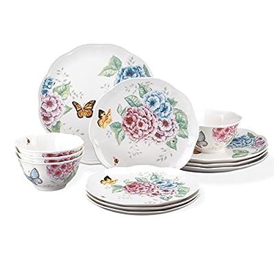 Lenox Butterfly Meadow Hydrangea 12-Piece Dinnerware Sets