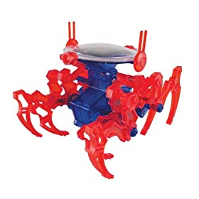 Walking King Crab (Mini Solar Kit) Robot