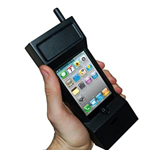 Thumbs Up UK 80s Retro Case for iPhone 3GS and 4 - Retail Packaging - Black
