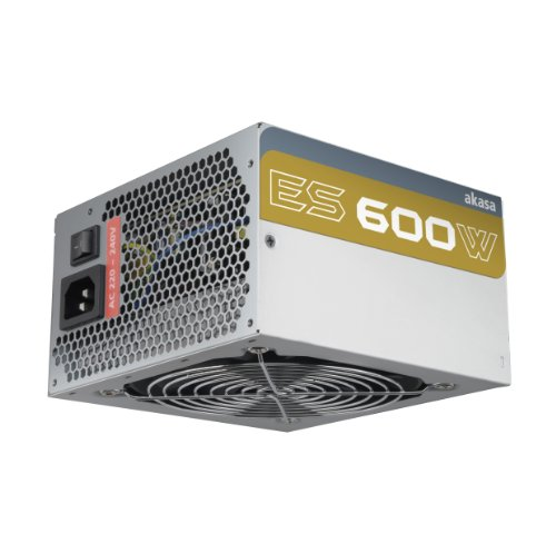 Akasa AK-P600AG8-SL ES 600W Power Supply