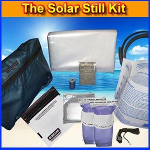 The Solar Still Water Purification Kit by Survival Metrics