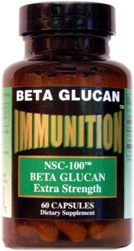 Nsc-100 Beta Glucan Extra Strength Nutrition Supply Corp (Nsc) 60 Caps