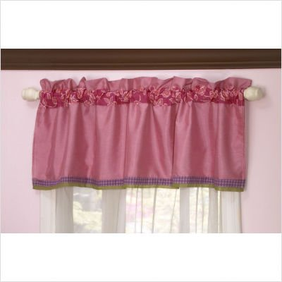 "Orchid Grace Window Valance by Cocalo - 15"" x 53"""