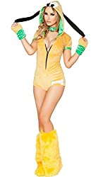 PU&PU Halloween Costume Party Queen Bar -piece belt dog booties clothing costumes costumes from Jolie