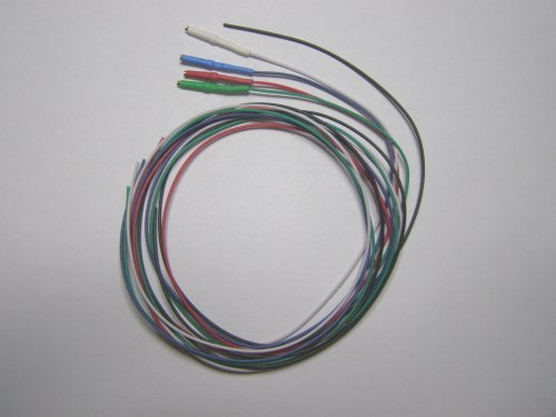 24 inches or 60 96 centimeters 28 awg tonearm wire wires with rh turntabless com
