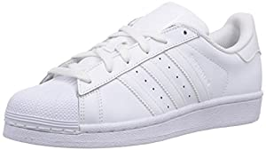 adidas Superstar Foundation, Unisex-Kinder Sneakers, Weiß (Ftwr White/Ftwr White/Ftwr White), 38 EU (5 Kinder UK)