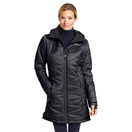 A hood and longer cut add bonus warmth and coverage to this winter favorite. The Mighty Light Hooded Jacket sheds wet weather with water-resistant nylon and employs Omni-Heat thermal insulation to battle frigid temps. Plus, a thermal reflective linin...