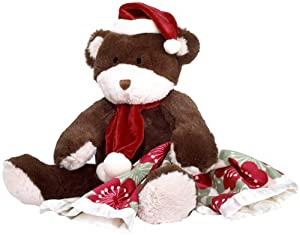 Cocalo Christmas Bear and Blankie Plush Set, Brown at Sears.com