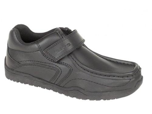 Gola BROSNAN Boys Velcro Bar Casual School Shoes Black