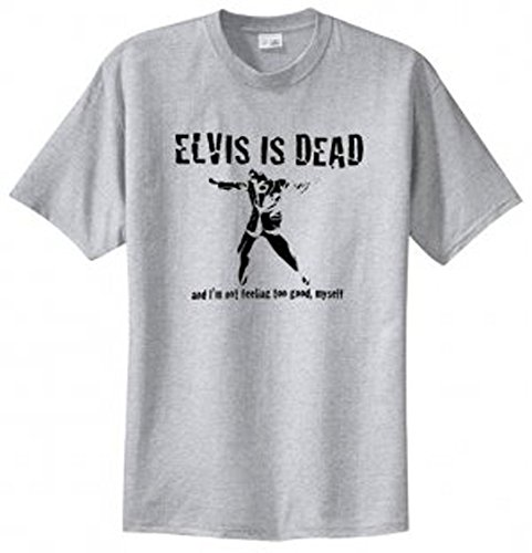 Elvis Is Dead Mens T Shirt