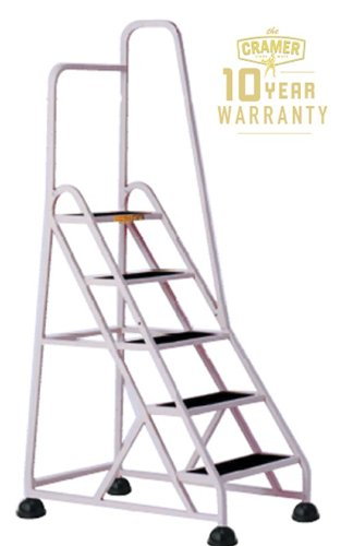 Cramer 1051R Stop Step 5 Step Ladder with Single Handrail