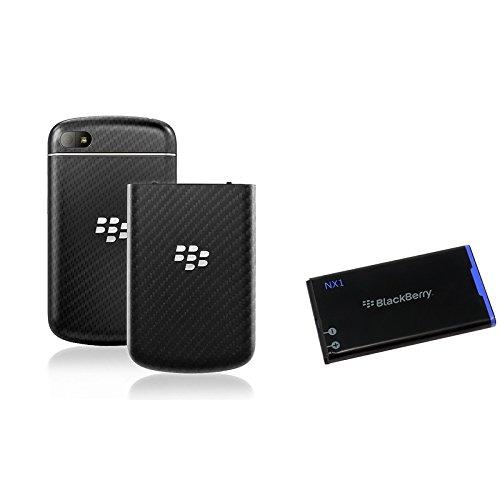Blackberry Q10 Oem Battery Door Bbq10Dr + Oem Standard Battery Nx-1