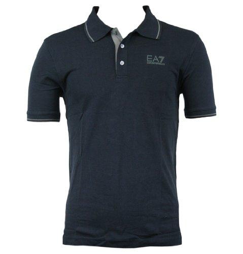 Emporio Armani EA7 273317 2A440 Mens SS Polo Shirt AW12 Dark Slate L