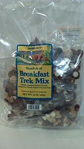 Breakfast Trek Mix, Handfuls 10 Bags of 1.5oz