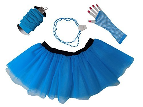 Neon Tutu Set in a choice of 10 Colours - Stretchy Waistband - 2 Sizes from 8 to 22