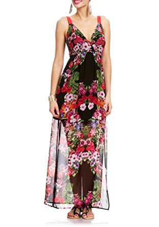 2B Hawaiian Punch Melina Maxi 2b Day Dresses Hawaiian Punch-xl