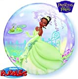 22 Inch Princess & the Frog 3D Bubble Balloons
