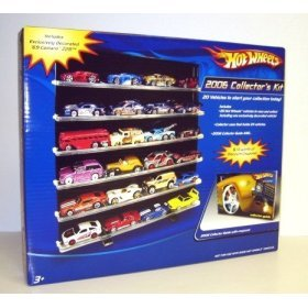 Hot Wheels 2006 Collector's Kit with 20 Hot Wheels cars & Collectors Case & Collector's Guide - Buy Hot Wheels 2006 Collector's Kit with 20 Hot Wheels cars & Collectors Case & Collector's Guide - Purchase Hot Wheels 2006 Collector's Kit with 20 Hot Wheels cars & Collectors Case & Collector's Guide (Hot Wheels, Toys & Games,Categories,Play Vehicles,Vehicle Playsets)
