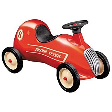 Radio Flyer Small Red Roadster