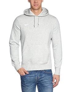 NIKE Herren Kapuzenpullover TS Core Fleece, Grey Heather/White, S, 454799-050