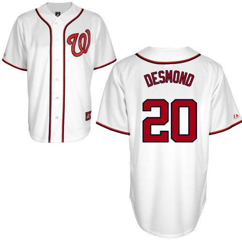 Ian Desmond Washington Nationals Youth Replica Home Jersey By Majestic Select Youth Size: Medium - 10/12 at Amazon.com