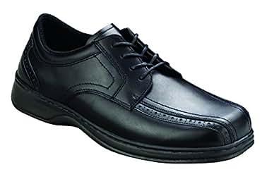 Orthofeet Gramercy Mens Extra Depth Orthopedic Dress Shoes