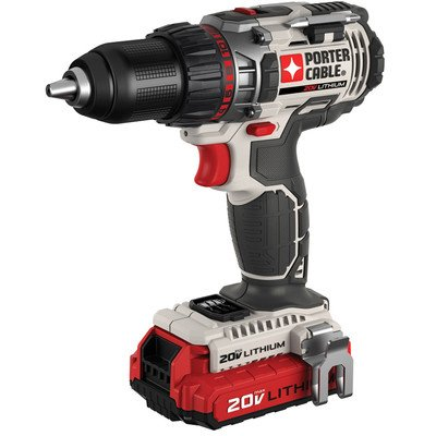 PORTER-CABLE 20-Volt 1/2-Inch Lithium-Ion Drill/Driver Kit from PORTER
