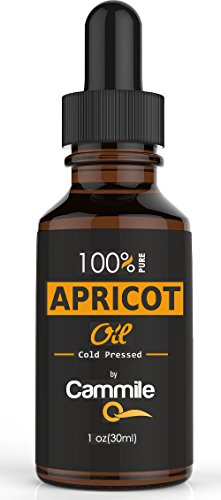 Apricot Kernel Oil - Pure and Cold Pressed - Natural Moisturizer for Skin, Hair and Face - Also Used As a Carrier Oil - 100 % Money Back Guarantee